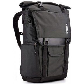 thule covert dslr rolltop backpack (tcdk101k) black