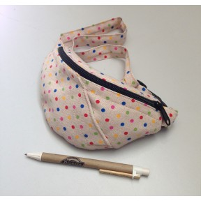 torbutreba waist bag polka mini