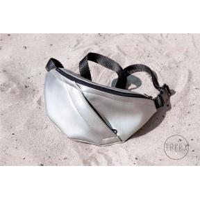 torbutreba waist bag eco silver size 1