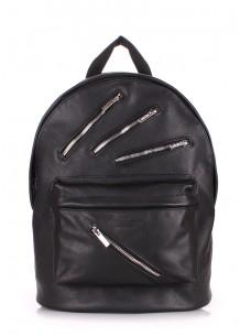 Кожаный рюкзак POOLPARTY Rockstar