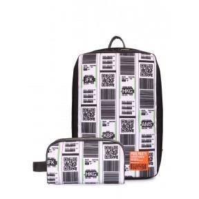 комплект: рюкзак для ручной клади и тревелкейс