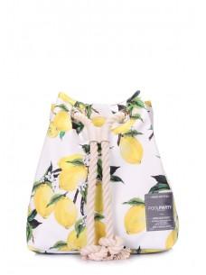 Летний рюкзак с лимонами