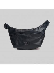 Svirson Hip Pack 01 Leather Black