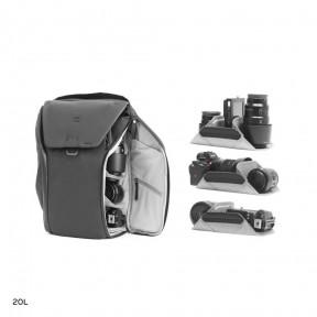 peak design рюкзак peak design everyday backpack 20l black (bedb-20-bk-2)