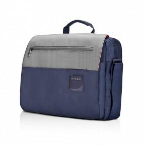 everki сумка для ноутбука everki contempro shoulder bag navy 14,1 (eks661n)