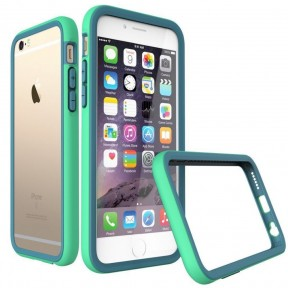 evolutive labs бампер rhino shield crash guard green для iphone 6 plus / 6s plus