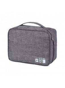 Travelty Дорожный органайзер для аксессуаров Travelty Basics L Grey